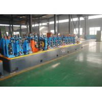 Buy cheap ERW Carbon Steel Water Supply Pipe Tube Mill , Pipe Thickness 4.0 - 10.0mm product