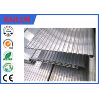 Buy cheap 6063 T5 Extrusion Waterproof Aluminum Decking Flat Board with Interlocking Groove product