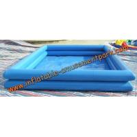 Buy cheap 0.6 mm Above Ground Inflatable Swimming Pool / Inflatable Water Games product