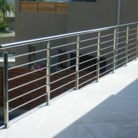 Buy cheap Modern Balcony / Staircase Stainless Steel Rod Railing Design product