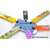 Buy cheap 2020 factory Custom logo printing silicone slap band with touch pen from wholesalers
