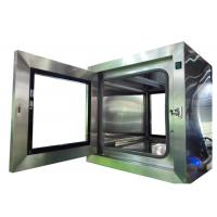 Buy cheap Lab Static Cleanroom Pass Thru Box / Stainless Steel Pass Through product