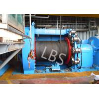 Buy cheap 10T 20T Hydraulic Windlass Winch With Lebus Grooving Drum Eco Friendly product