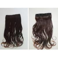 China Smooth Brown #8 Clip In Hair Extension Malaysian Virgin Remy Hair on sale