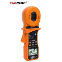 China Auto ranging Orange 20A RMS electric power digital Ground Resistance Clamp Meter on sale