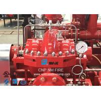 Quality Ductile Cast Iron Split Case Fire Pump For Subway Stations 1500GPM @ 170PSI for sale