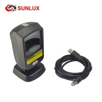 Buy cheap USB / RS232 Mobile Payment Box 2D QR Reader Black Barcode Scanner from wholesalers