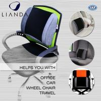 China Posture Corrector Alleviates Pain Back Support PU Waist Lumbar Support Cushion For Office Chair wholesale