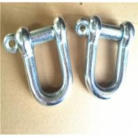Buy cheap Zinc Plated Rigging Hardware Japanese Type Dee Jis Shackle With Screw Pin product