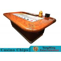 Buy cheap Standard Casino Sic Bo Luxury Casino Craps Poker Table / Electronic Poker Table product
