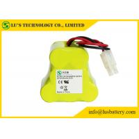 Buy cheap 9.6 Volt Rechargeable Battery Pack , 3000 Mah NIMH Battery Customized Color product
