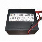 Buy cheap Rechargable Waterproof Electric Vehicles Battery For Wind Energy System 48v 40ah product