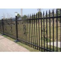 Buy cheap Powder Coated Security Picket Tubular Steel Fence , Ornamental Fence Panels product