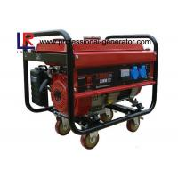China Home Use 2.8 kw High Efficiency Gasoline Generators with Single Phase , Kick and Electric Start on sale