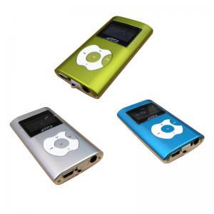 2 Microsdのカード スロットBT-P106を持つ色LCMの表示携帯ラジオのMP3プレーヤー