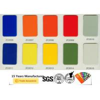 Buy cheap Anti Microbial Polyester Powder Paint , Non Toxic Gloss Powder Coat Paint product