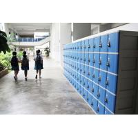 Buy cheap ABS Material Keyless Plastic School Lockers 4 Comparts 1 Column Safety / Ventilation product