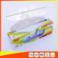 Buy cheap Food Grade Freezer Zip Lock Bags / Zip Top Freezer Bags Customized Printed product
