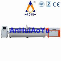 Buy cheap 3D AOYU Abrasive CNC Waterjet Cutting Equipment With Aluminium Alloy Beam product