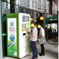 Buy cheap Airport Automatic Reverse Can And Bottle Recycling Machines 200 Pcs Eco Friendly product