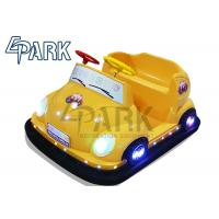 China Hardware And Plastic Kids Bumper Car Theme Park Rides 130 * 104 * 71CM on sale