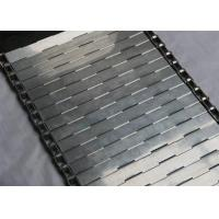 Buy cheap 304 Stainless Steel Plate Link Conveyor Belt High Temperature Resistant product