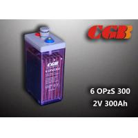 Buy cheap 12V 6 OPzS300 Wind Solar Power Telecom Application Tube ABS Battery product