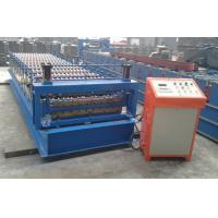 Buy cheap Automatic Corrugated Steel Sheets Roll Forming Machine Aluminum Sheet product