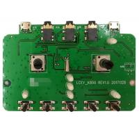 Buy cheap 2 Layers SMT PCB Assembly PCBA Prototype Service Green Soldmask For Audio Products product