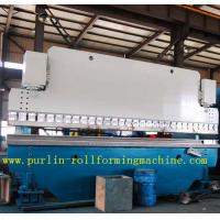 Buy cheap Automatic PLC Control Hydraulic Bending Machine For Roofing Sheet , ISO / CE Approved product
