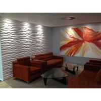 Buy cheap 3dboard wall decor panels 625*800 fiber eco wave panels with original colcor BEACH product