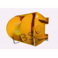 Buy cheap Engineering 10 ton Winch Drum & 0.8 ton Single Rope Tension with One Year from wholesalers