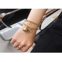 Buy cheap Tiffany Hardwear 18K Gold Diamond Bracelet With Unisex Ball And Chain Design product