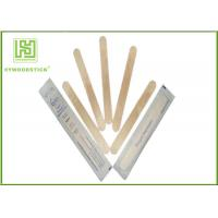 China Single Use Disposable Wooden Tongue Depressor Flat Bamboo Sticks OEM Available wholesale