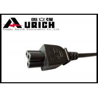 Buy cheap Laptop Computer Monitor Power Cord , 3 Prong Mickey Mouse Power Cord product