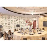 Buy cheap Chinese Ancient Poetry And Bamboo Pattern Modern Removable Wallpaper , 0.53*10M product