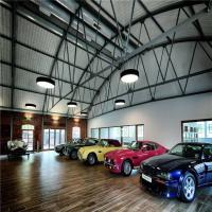 Buy cheap Modern Design Steel Structure Prefabricated Workshop Heya Int'L Car Showroom product