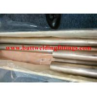 Buy cheap SGS / BV / ABS / LR CuNi 70/30 Seamless Copper-Nickel Tube  For Air Condition product