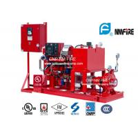 Buy cheap High Precision Diesel Engine Driven Fire Fighting Pump Centrifugal 175PSI / 404 Feet product