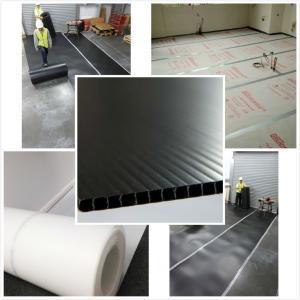 Panneaux recyclables de protection de plancher de pp, feuille ignifuge de protection