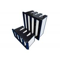 Buy cheap 4 Pack F8 - F9 Compact HEPA Air Filter For Pharmaceuticals Air Flow 3800m³/H product