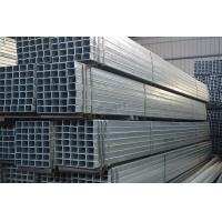 Buy cheap Small Size Galvanized Steel Pipe / Round / Rectangle / Square GI Pipe for Structure Frames product
