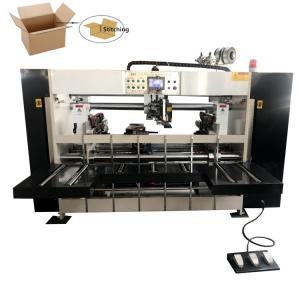 China Carton Box Stapler 2000mm Semi Auto Stitching Machine on sale