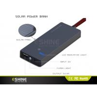 Quality Full Capacity Portable Solar Power Bank / Solar Mobile Charger for sale