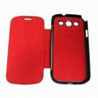 Buy cheap Cases for Samsung Galaxy S2, Book Style, Real Leather, Available in Various Colors product