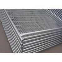 Buy cheap Security Galvanized Temporary Construction Fence Panels For Isolation product