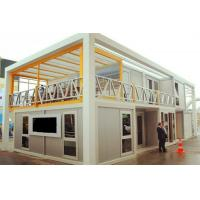 Buy cheap Innovative Unique Container Warehouse Group With Kitchen For Construction Company product