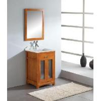 Buy cheap Solid Wooden Bathroom Cabinet (A-M025) product