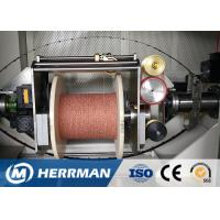 Buy cheap 0 ~ 50% Angle Wire Cable Machine Dual Bobbin With Back Twist Double Twist Machine product