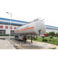60m3 Fuel Tanker Trailer tri - axle tank semi trailer 60000 liter oil tank